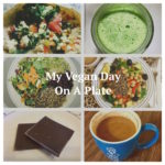 My Vegan Day On A Plate Collage 1