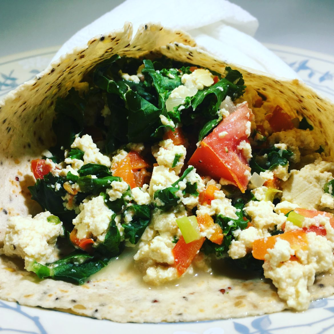 Tofu Scramble Vegan Eggs