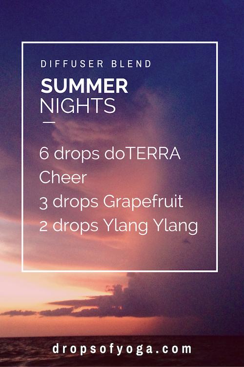 Summer Nights Diffuser Blend doterra