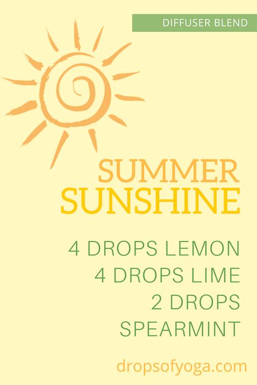 Summer Sunshine Diffuser Blend doterra