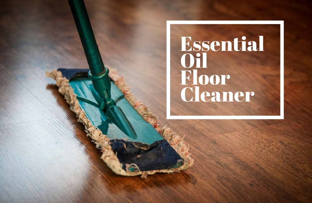 Simple Floor Cleaner Using Essential