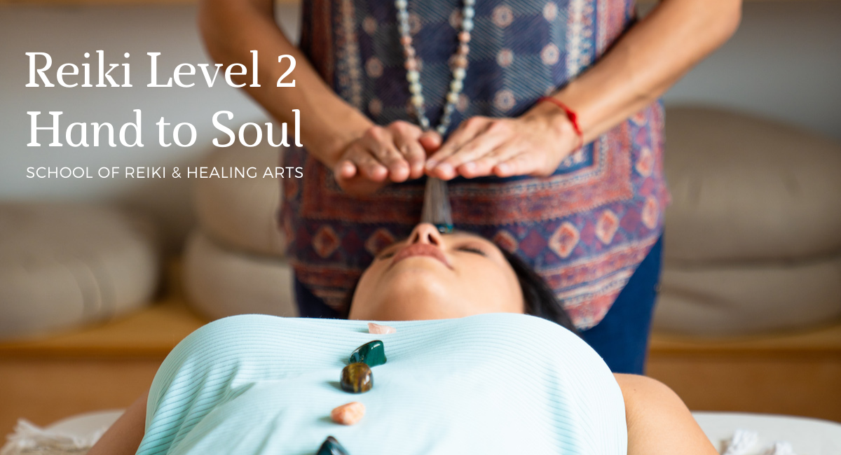 reiki training level 2 online certification and in-person classes Tampa Florida with Hand to Soul